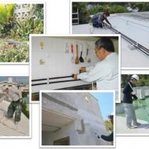 各種工事(水道配管工事・防水工事・塗装工事)の流れ