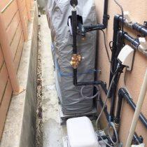 軟水機、加圧ポンプ導入実績:うるま市K様宅 二世帯住宅