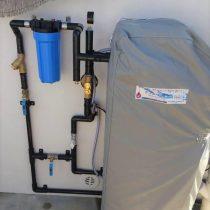軟水機浄水器導入実績:金武町H様宅