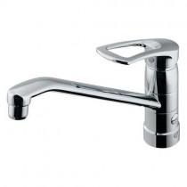 混合栓:シングルレバー混合栓(上面施工)117-061