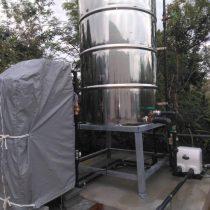 軟水機浄水器導入実績:金武町K様宅 新築住宅