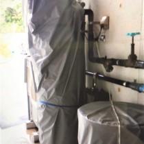 業務用軟水機の点検とメンテナンス