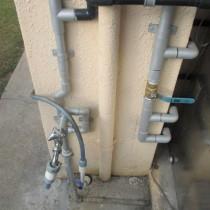 水道配管取替え・加圧ポンプ実績:沖縄市O様宅①