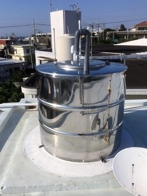 貯水タンク及び水道配管取替え工事実績:浦添市M様宅