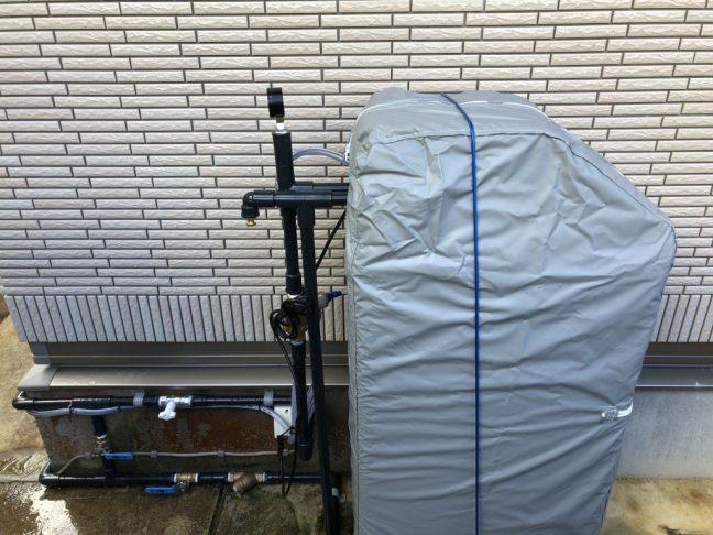 軟水機浄水器導入実績:金武町G様宅